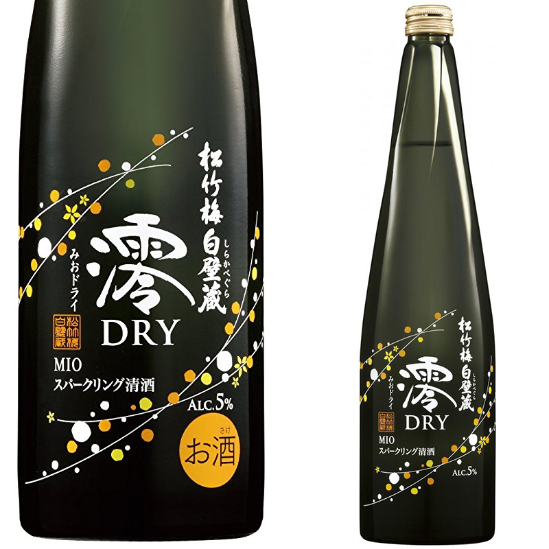 宝(タカラ)酒造 松竹梅白壁蔵「澪」DRY スパークリング清酒 750ml※12本まで1個口で発送可能
