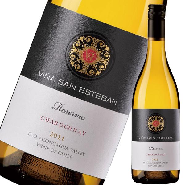 ヴィーニャサン エステバン シャルドネ レセルヴァ750ml×12本[ケース販売]※お届けするワインのヴィンテージが画像と異なる場合がございます。※ヴィンテージについては、ご注文前にお問い合わせ下さい。