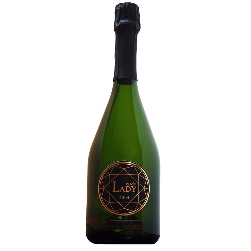 シャンパーニュ ポール グール キュヴェ レディ[2004] 750mlCUVEE LEDY※12本まで1個口で発送可能※お届けするワインのヴィンテージが画像と異なる場合がございます。※ヴィンテージについては、ご注文前にお問い合わせ下さい。
