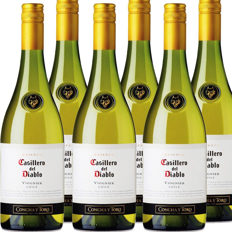 【キャンペーン特価★6本セット】コンチャイトロ カッシェロ ディアブロ ヴィオニエ 750ml※お届けするワインのヴィンテージが画像と異なる場合がございます。※ヴィンテージについては、ご注文前にお問い合わせ下さい。