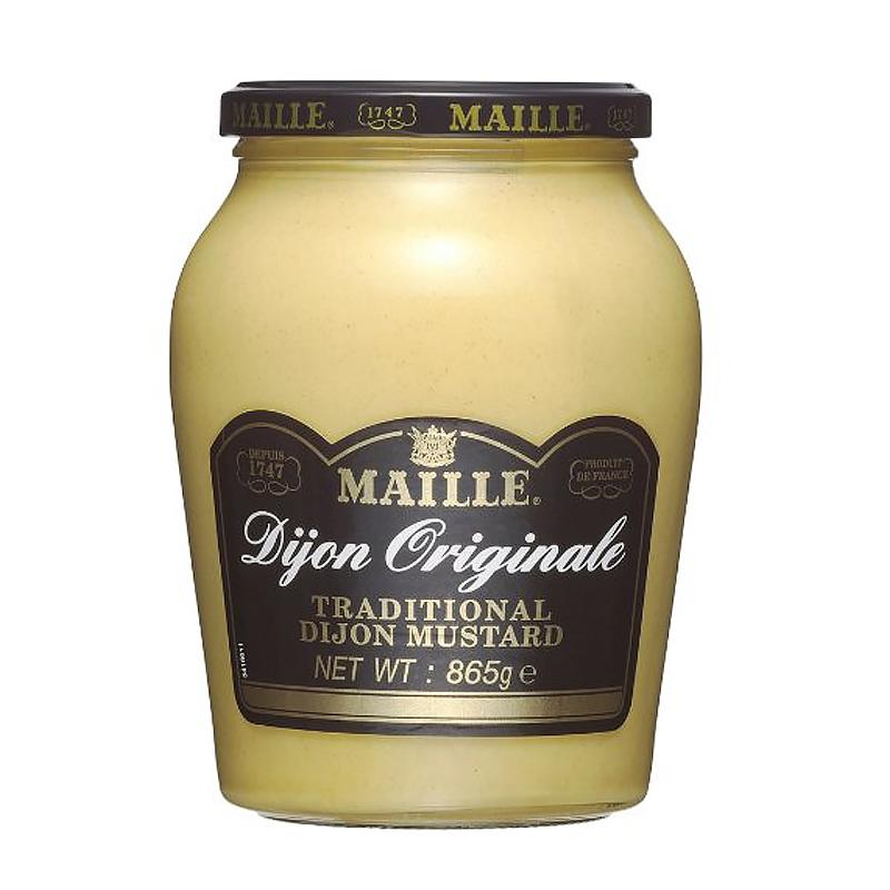 伝統的製法で作られた上品な風味と 明るく美しい色合いのマスタード MAILLE マイユ ディジョンマスタード 毎日がバーゲンセール 全国どこでも送料無料 お中元 ギフト 865g