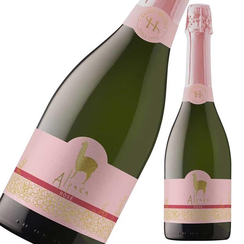 サンタ・ヘレナ アルパカ スパークリング・ロゼ 750ml×12本※お届けするワインのヴィンテージが画像と異なる場合がございます。※ヴィンテージについては、ご注文前にお問い合わせ下さい。