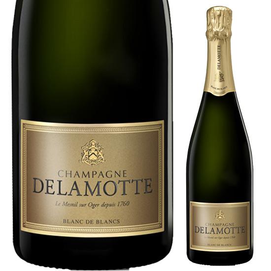 ドゥラモット ブリュット ブラン・ド・ブラン ミレジメ 750ml※お届けするワインのヴィンテージが画像と異なる場合がございます。※ヴィンテージについては、ご注文前にお問い合わせ下さい。