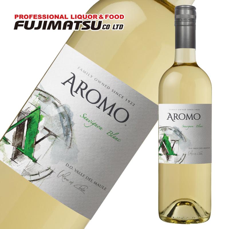 チリを象徴する花の名前を冠したワイナリー アロモ 新作通販 ソーヴィニョン ブラン 750ml 白 ※12本まで1個口で発送可能※お届けするワインのヴィンテージが画像と異なる場合がございます ご注文前にお問い合わせ下さい 辛口 ※ヴィンテージについては バランスのよい酸味 格安激安 ワイン