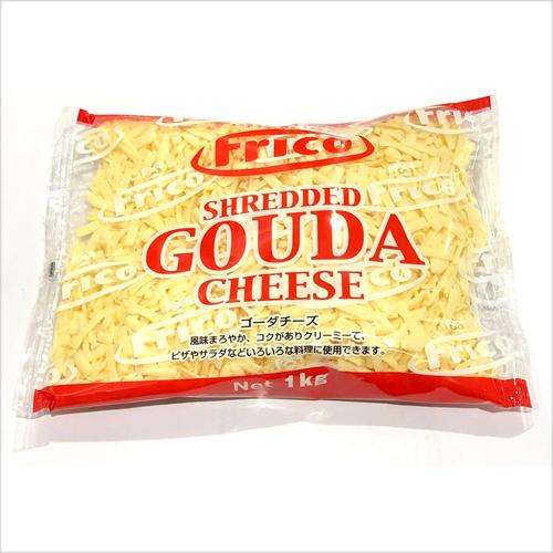 便利なシュレッドタイプ クール便 オランダフリコ 超歓迎された ゴーダチーズ シュレッド 1kg 1袋 CHEESE GOUDA セール商品 HOLLAND SHRED コストコ costco