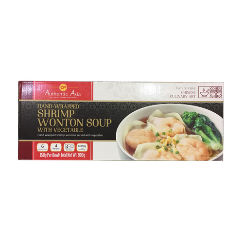 (冷凍便)CP シュリンプワンタンスープ 150g×6食 1箱 1981円【 冷凍食品 エビ 海老 コストコ costco 】