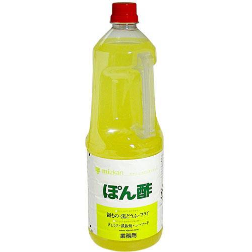 ミツカン ぽん酢 大幅値下げランキング 1.8L 超激得SALE ペットボトル 業務用