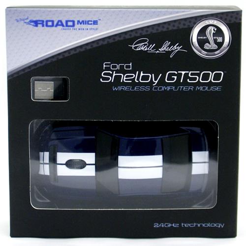 Ford Shelby GT500蓝色无线鼠标ROAD MICE 6666日元