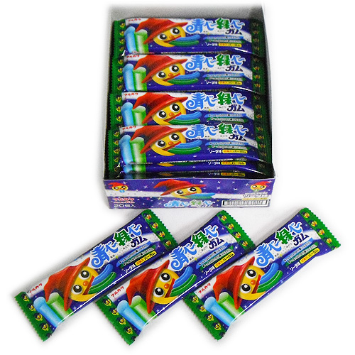 丸蓝色婴儿绿湾 27 口香糖苏打水味道 1 (2 个) ¥ x 20 Pc 540 日元