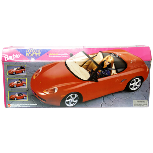 Barbie PORSCHE BOXSTER 30000円【バービー ポルシェ ボクスター,おもちゃ,コレクション 】【コンビニ受取対応商品】