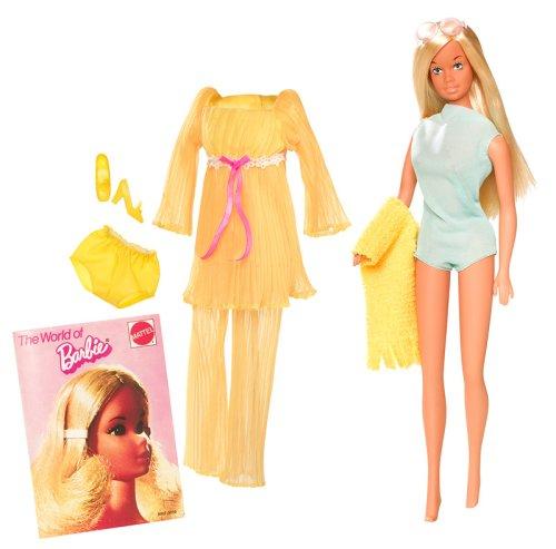 Barbie My Favorite Time Capsule 1971 Malibu Doll 9500円【バービー カプセル 黄色 マリブ ドール 人形】【コンビニ受取対応商品】