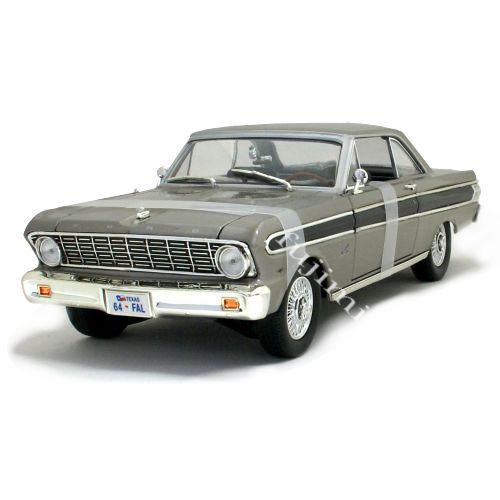 1964 FORD FALCON gry 1/18 ROAD SIGNATURE 11112円 【フォード ファルコン グレー アメ車 ミニカー ダイキャストカー】【コンビニ受取対応商品】