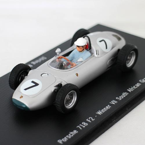 Porsche 718 F2 1/43 slv Porsche MUSEUM 12963円【 ポルシェ 博物館 限定 ミニカー コレクター 銀色 クラシック レース レーシングカー ダイキャストカー 】【コンビニ受取対応商品】