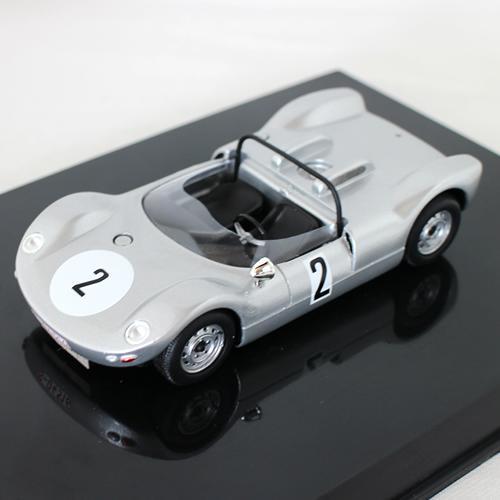 Porsche 906-8 NOREV 1/43 Porsche Museum EXCLUSIVE 12963円【 ポルシェ ミュージアム ミニカー 博物館 コレクター 限定 銀色 クラシック レース ラリー ダイキャストカー 】【コンビニ受取対応商品】