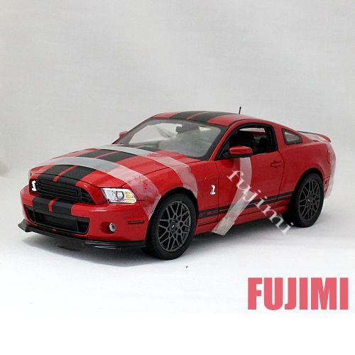 2013 FORD SHELBY GT500 red 1/18 Shelby Collectible 12963円【 フォード シェルビー ミニカー マスタング 赤 アメ車 マッスルカー mustang ダイキャストカー ミニカー cobra コブラ 】【コンビニ受取対応商品】