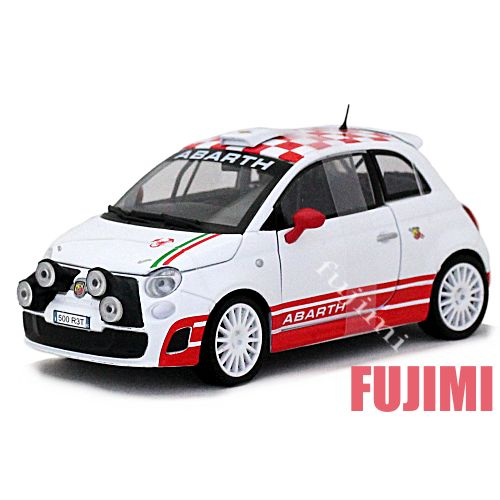 Fujimi Cc Rakuten Global Market Fiat Abarth 500 R3t Wht 1 24