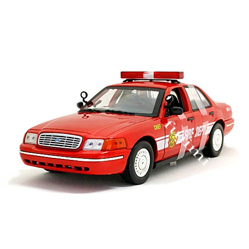 2001 FORD CROWN VICTORIA-FIRE CHIEF red 1/18 MOTOR MAX 8241円 【 フォード アメリカン ファイアーチーフ モーターマックス ミニカー 消防 クラウンビクトリア ダイキャストカー 】【コンビニ受取対応商品】