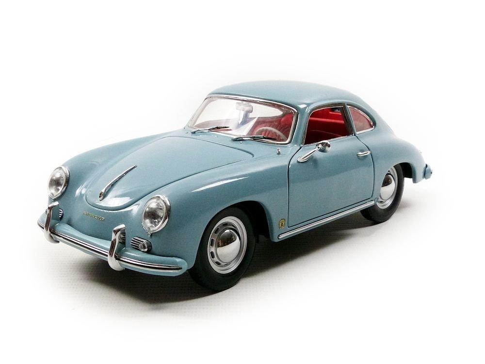 ミニカー 1957 ポルシェ 356A 1500 GS カレラ GT 水色 1/18 Sun Star EUROPEAN COLLECTIBLES 13797円 【 PORSCHE CARRERA GT BLUE 青 ダイキャストカー サンスター クラシックカー 】