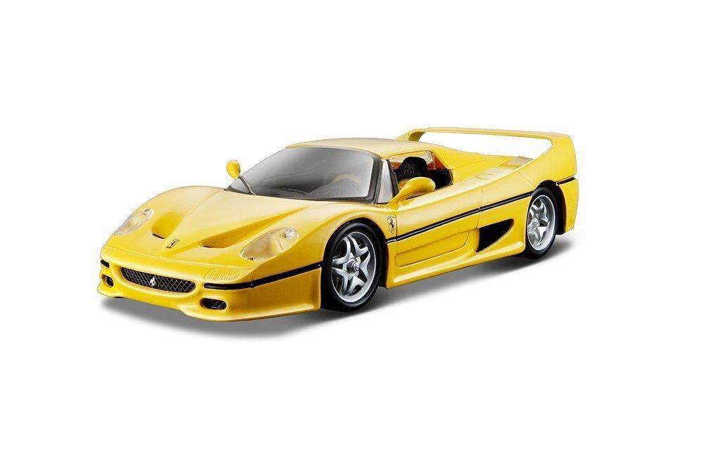Ferrari F50 Yellow 1/18 Bburago RACE&PLAY 8241円【フェラーリ 黄色 イエロー ブラーゴ イタリア車 スポーツカー スーパーカー ミニカー ダイキャストカー 】【150812】【コンビニ受取対応商品】