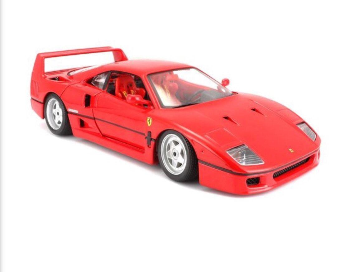 Ferrari F40 red 1/18 Bburago ORIGINAL SERIES 14815円【フェラーリ 赤 ブラーゴ イタリア車 スポーツカー スーパーカー ミニカー ダイキャストカー 】【150812】【コンビニ受取対応商品】