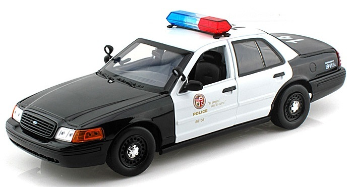 LOS ANGELES POLICE DEPARTMENT ( LAPD ) PATROL CAR 1/18 DARON 11112円 【 LAPD ロサンゼルス アメリカン ポリス パトカー ミニカー 警察 ロス市警 ダイキャストカー ダロン 】【コンビニ受取対応商品】