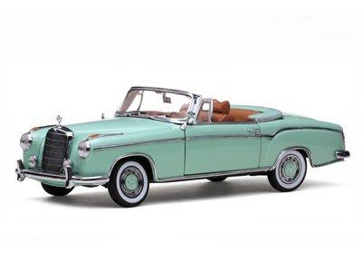 BENZ 220SE Convertible 1958 SunStar 1/18 12963円【 メルセデス ベンツ ミニカー サンスター mercedes ダイキャストカー クラシック オープンカー open 】【コンビニ受取対応商品】