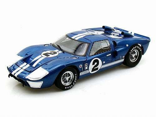 1966 FORD GT40 Mk II #2 Blue 1/18 SHELBY COLLECTIBLES 10186円【 GT 40 MK2 青 ブルー ミニカー シェルビー コレクタブル フォード ダイキャストカー コブラ 】【コンビニ受取対応商品】