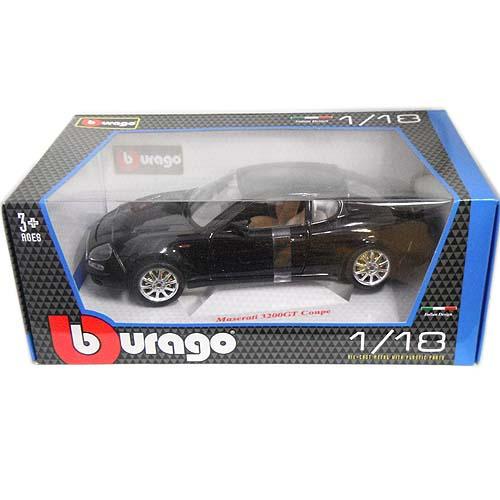 Maserati 3200GT Coupe Black 1/18 Bburago 7315日元