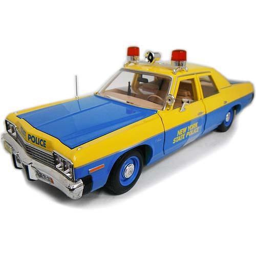 1974 Dodge Monaco NewYork State Police 1/18 auto world 13797円【ダッジ モナコ ニューヨーク州警察 パトカー オートワールド ミニカー ダイキャストカー アメ車 クラシック アメリカンポリス】【151028】【コンビニ受取対応商品】