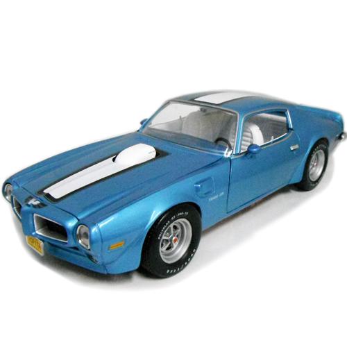 1972 Pontiac Firebird Trans Am blue 1/18 Auto World 18426円【ポンティアック ファイヤーバード トランザム アメ車 ブルー マッスルカー ミニカー 世田谷ベース 所ジョージ 】【コンビニ受取対応商品】