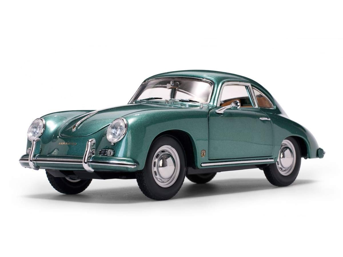 1957 Porsche 356 A 1500 GS Carrera GT Green 1/18 Sun Star EUROPEAN COLLECTIBLES 15741円 【 ポルシェ カレラ ミニカー 緑 グリーン ダイキャストカー サンスター クラシックカー ラリー レーサー 4カム 】