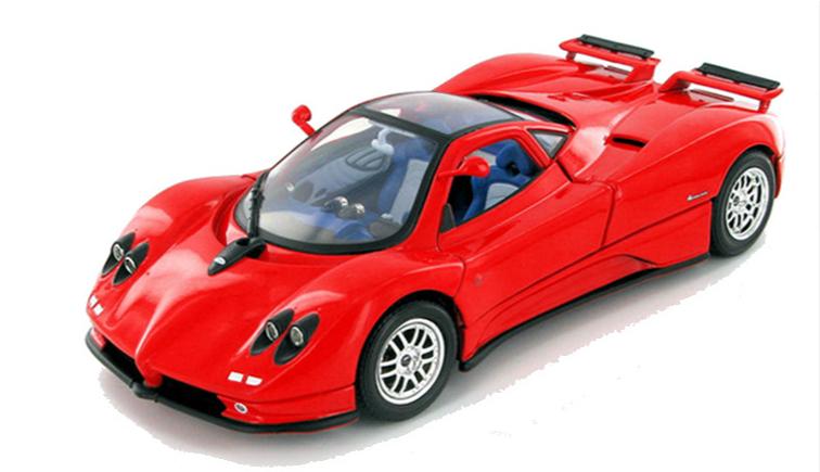 PAGANI Zonda C12 red 1/18 MOTOR MAX 7778円 【 パガーニ ゾンダ モーターマックス ミニカー 赤 ダイキャストカー スーパーカー 】【コンビニ受取対応商品】