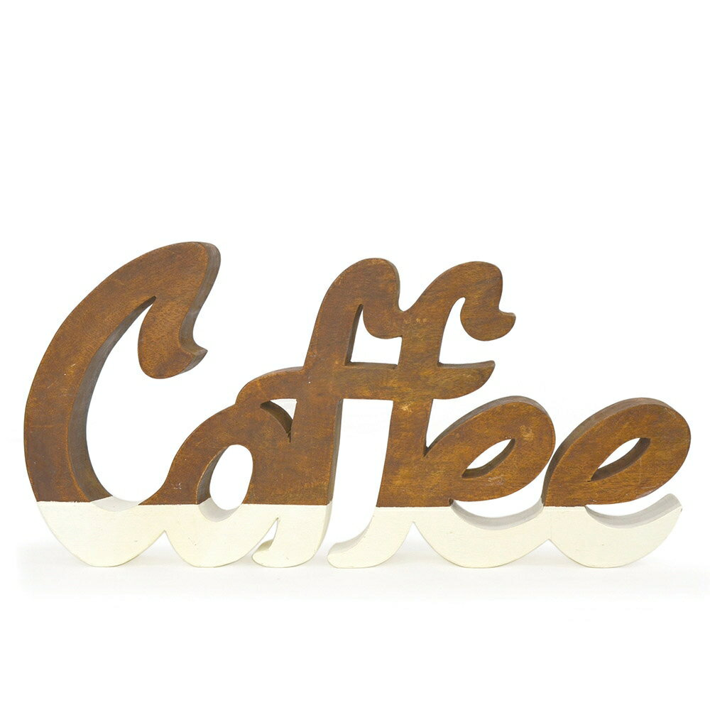 木製オブジェ ウッデンスクリプト/コーヒー ラウンドB プレート 食器 キッチン 木皿 洋食器 ナチュラル 雑貨 おしゃれ かわいい 可愛い コップ