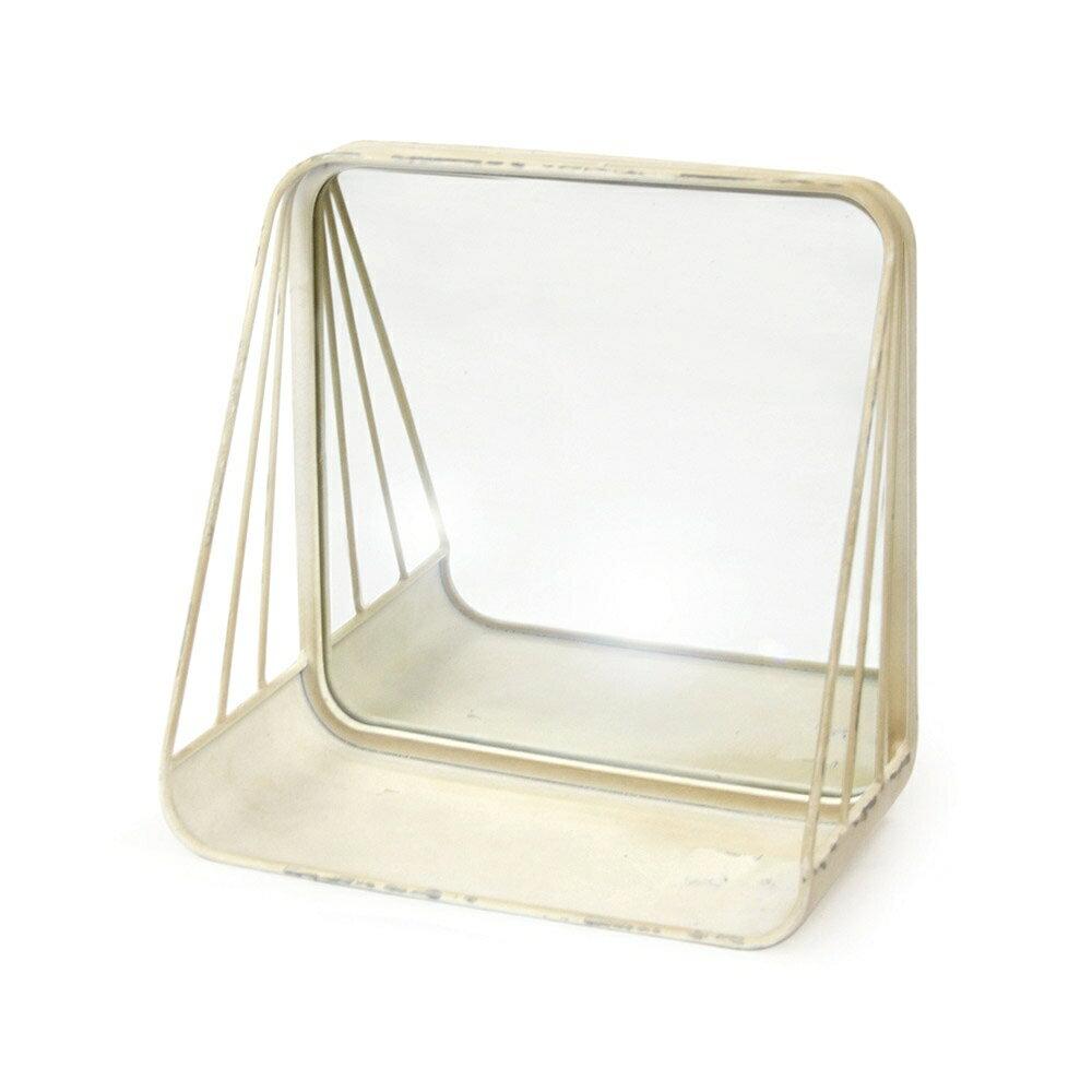 メタルミラーシェルフ 食器棚 シェルフ 北欧 おしゃれ かわいい フラップ扉 リビング ダイニング キッチン ガラス キャビネット ウォール キッチンラック 白 ホワイト 木製 キッチン収納 台所