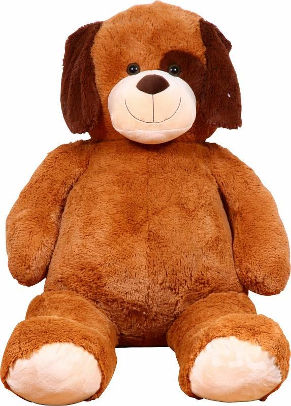 イヌぬいぐるみ ブラウン 135cm クリスマス プレゼント ギフト キッズ 贈り物 ぬいぐるみ おもちゃ くま いぬ ドッグ
