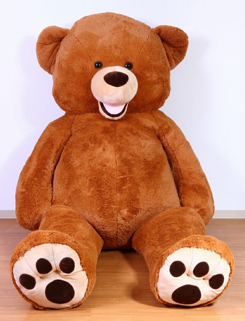 くまぬいぐるみ ブラウン 240cm クリスマス プレゼント ギフト キッズ 贈り物 ぬいぐるみ おもちゃ くま 大きい