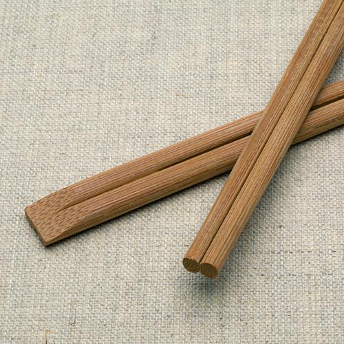 割り箸 炭化竹天削 8寸(21cm) 3000膳 高級感 竹製 使い捨て【業務用】【送料無料】