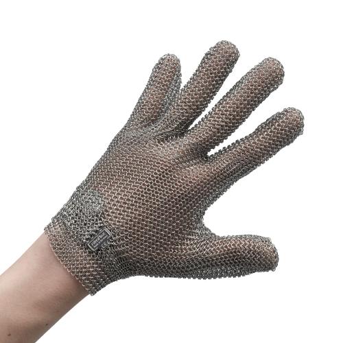 作業用手袋 ステンレスメッシュ手袋 5本指 【業務用】【送料無料】