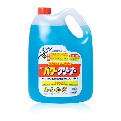 花王 パワークリーナー 4.5L×4本(ケース) 【業務用】【送料無料】