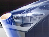 日立化成 粘着シート ヒタレックス GS-1010 (幅200mm×長200M) 8本入り