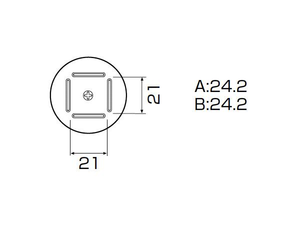 白光(HAKKO) SMCリワーク ノズル BQFP 24mm×24mm A1182B