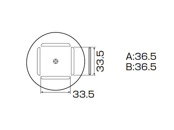 白光(HAKKO) SMCリワーク ノズル PLCC 34mm×34mm (100ピン) SMCリワーク A1189B