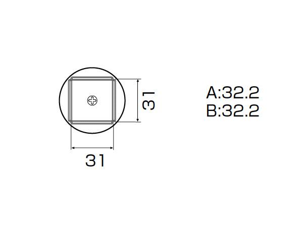 白光(HAKKO) SMCリワーク ノズル QFP 32mm×32mm A1265B