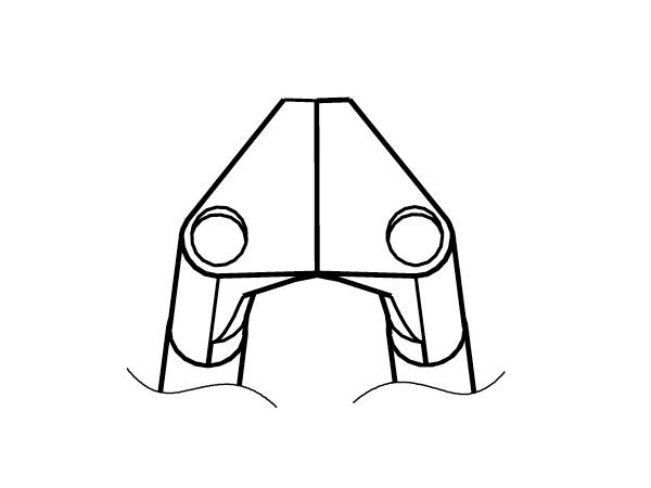 白光(HAKKO) ベント型ストレートブレード G1-1605