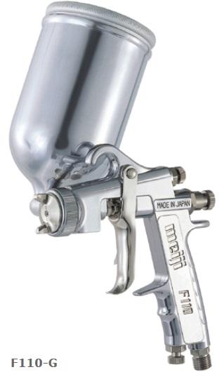 明治機械製作所(meiji)小形ハンドスプレーガン(重力式・チューリップパターン)(カップ別売)品番:F110-G10T