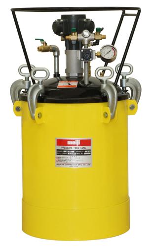 明治機械製作所(meiji)塗料圧送タンク(自動かくはん)品番:PA-30B