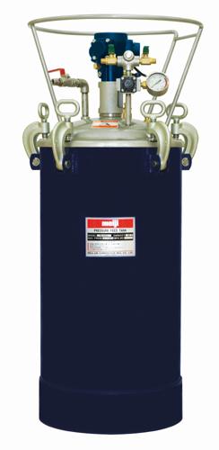 明治機械製作所(meiji)塗料圧送タンク(接続部ステンレス/自動かくはん)品番:PA-50SB