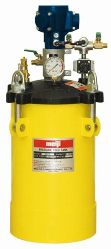 明治機械製作所(meiji)塗料圧送タンク(自動かくはん)品番:PA-10B