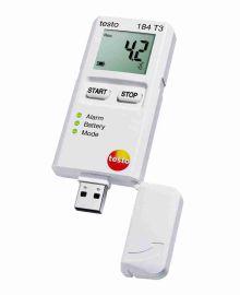 TESTO(テスト―)輸送用USB温度データロガー(ディスプレイ付)testo184 T3 0572 1843