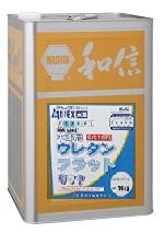 【送料無料(沖縄・離島を除く)】Washin(和信化学工業)アクレックスNo.3402木部用ウレタンフラット(半ツヤ)【16kg】